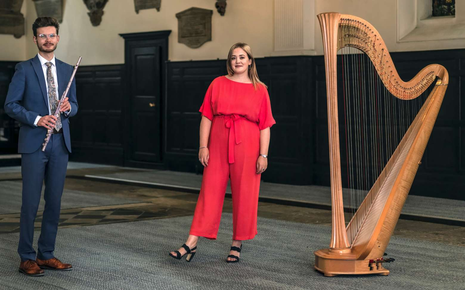 Dahlia Flute Harp Duo   London Flute And Harp Duo For Hire