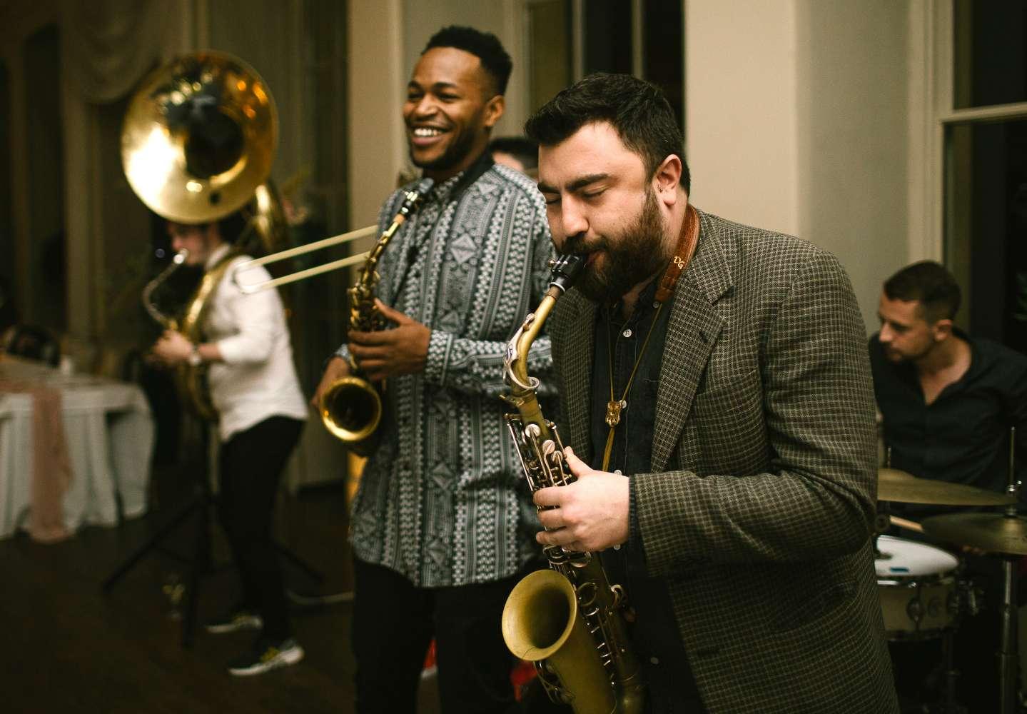 Drum 'n' Brass | Manchester Drum & Brass Fusion Wedding Band