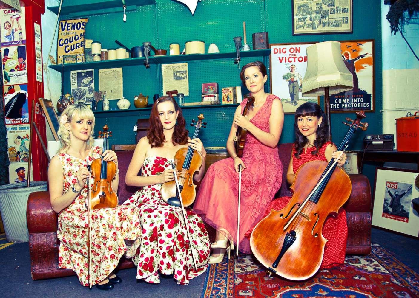 Heyday String Quartet Manchester Main