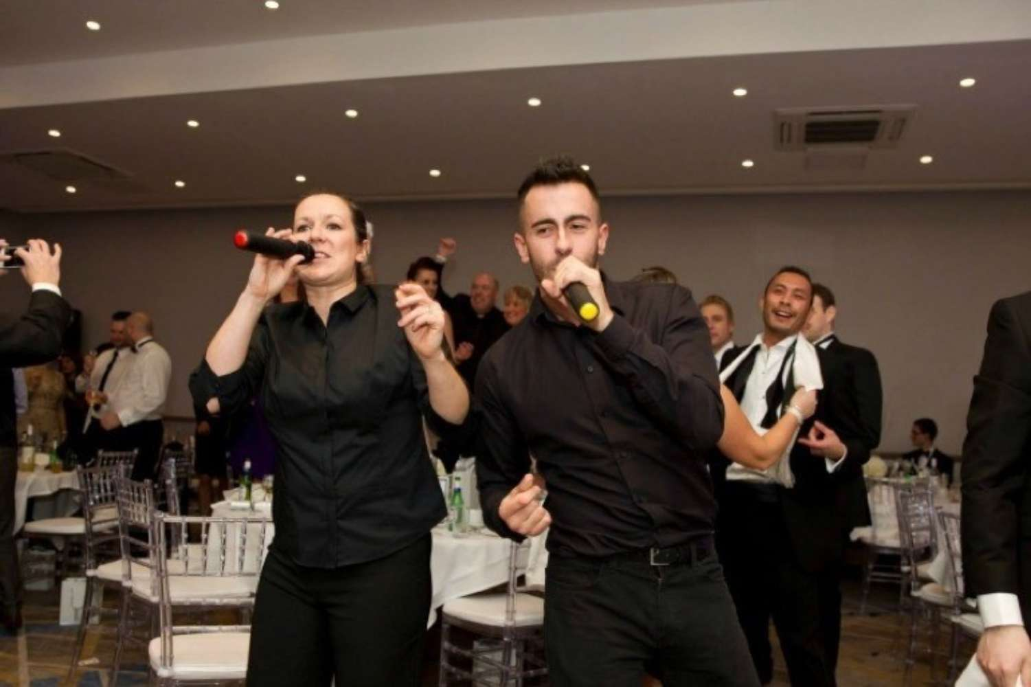 Singing Staff | Singing Waiters Main