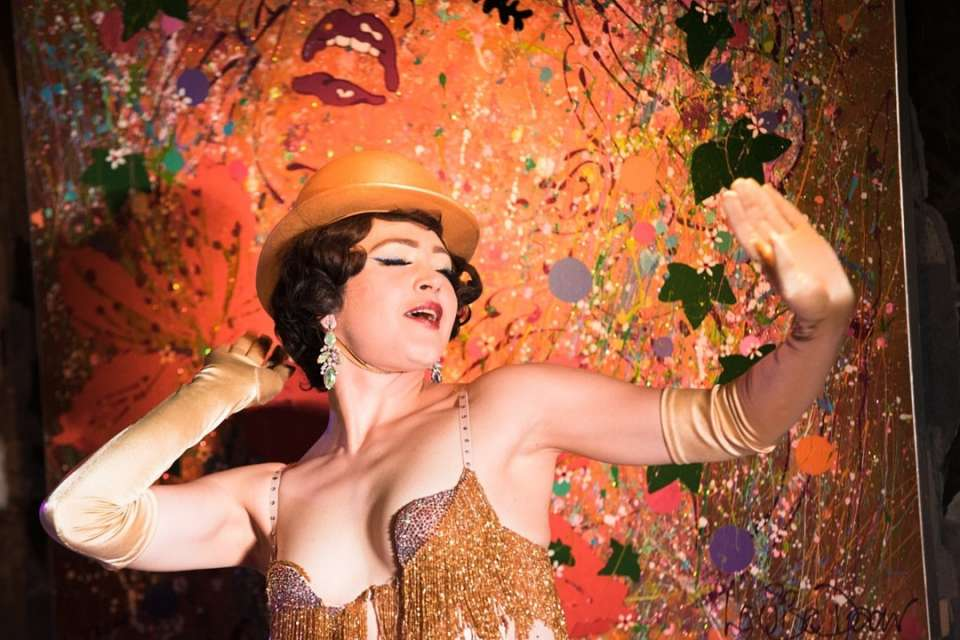 Jazz Burlesque London Swing Burlesque Group For Hire