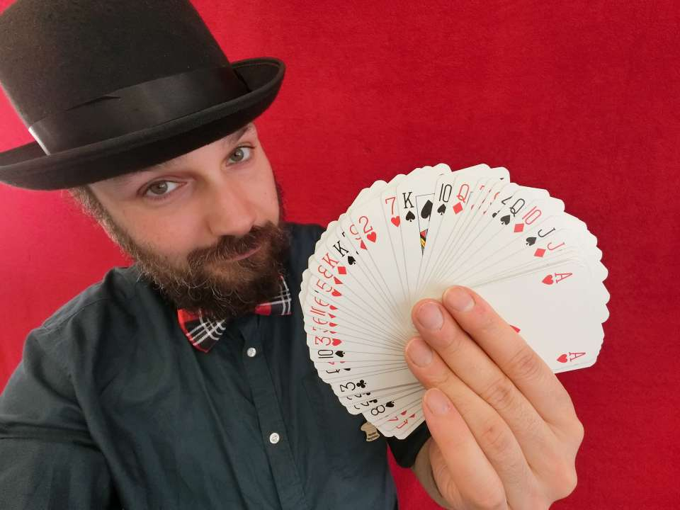 Magic Steve cards