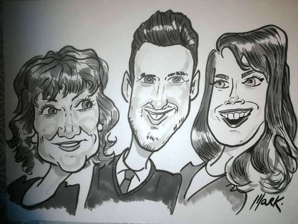 Marks Caricatures MAIN