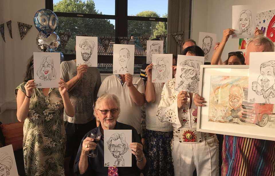 Mikes Caricatures MAIN