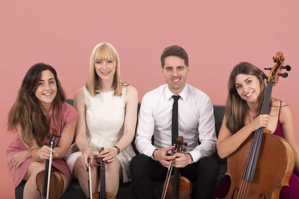 Romanza String Quartet Glasgow String Quartet For Hire 1