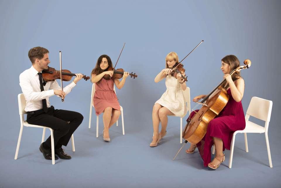 Romanza String Quartet Glasgow String Quartet For Hire