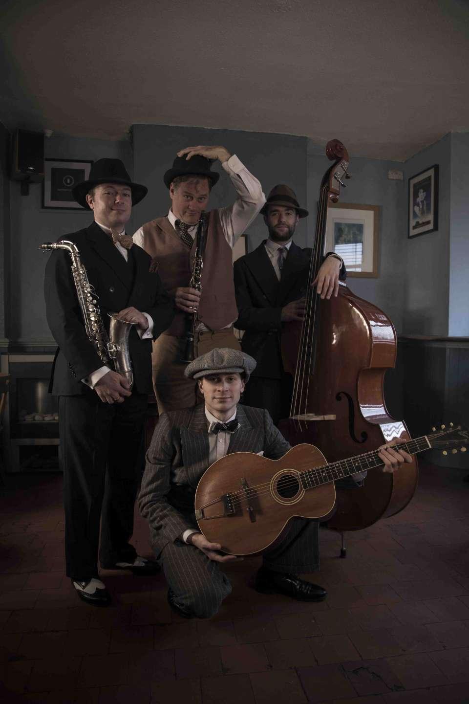 Scotch and Soda London Jazz Band Hire 1