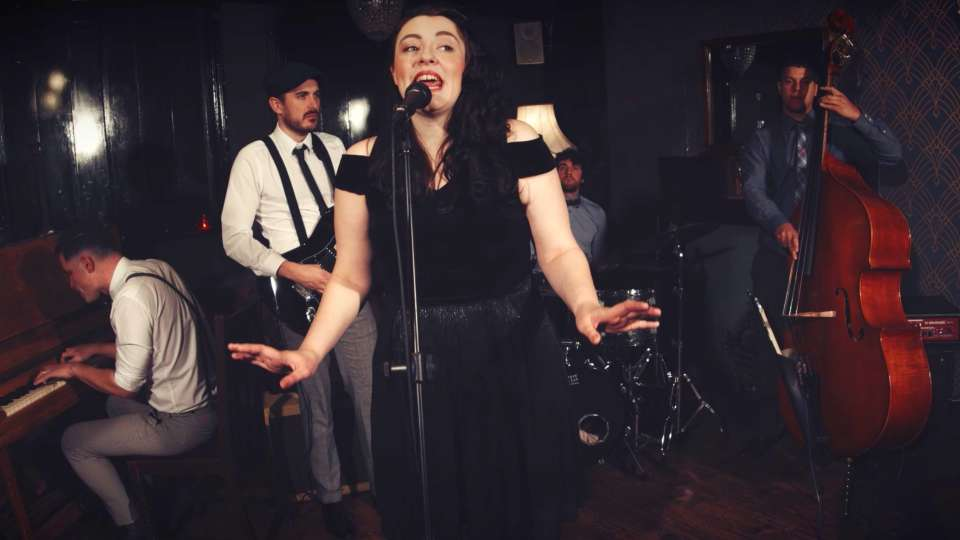 The Hotsy Totsies Manchester Postmodern Jukebox Style Band For Hire