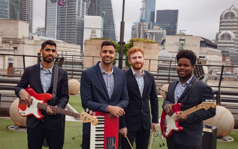 The Shots London Wedding Band For Hire