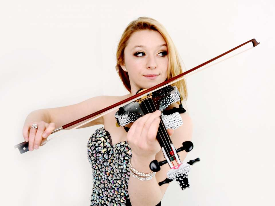 Amelia Wedding Violinist Manchester Main