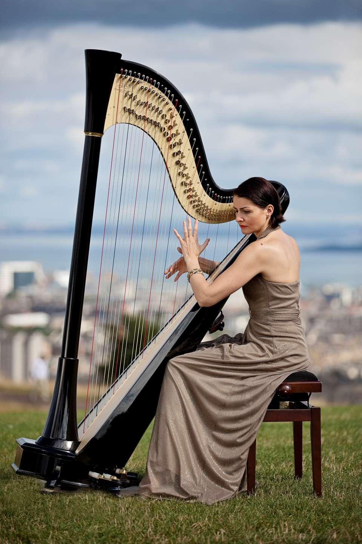 Aura Harpist London Wedding