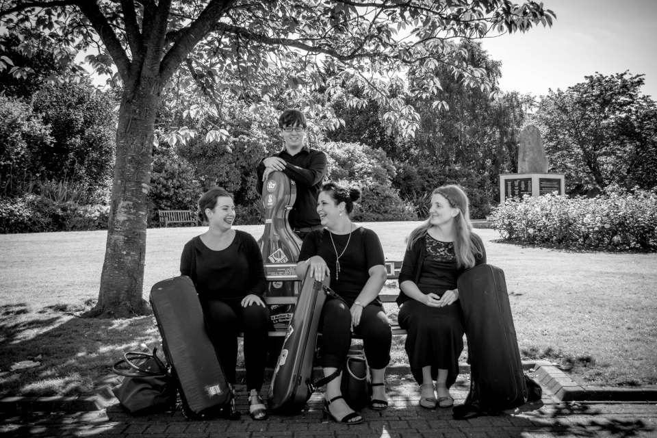 Birdsong Strings Cardiff Wedding Quartet1