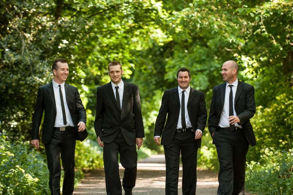 Black Jacks Wedding Band 1