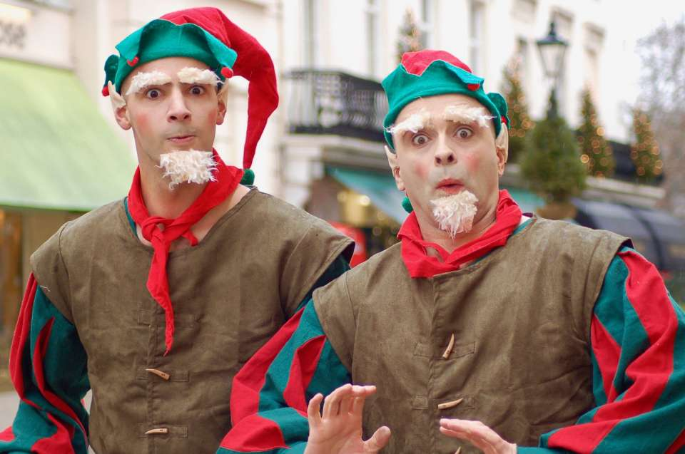 Christmas Characters Oxford Mix and Mingle For Hire