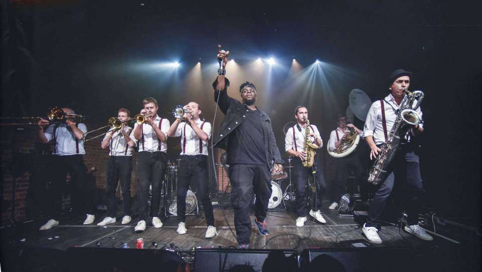 The DBs | London Brass Band For Hire