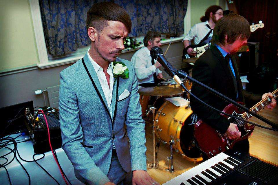 Different Lights Wedding Band Liverpool 6