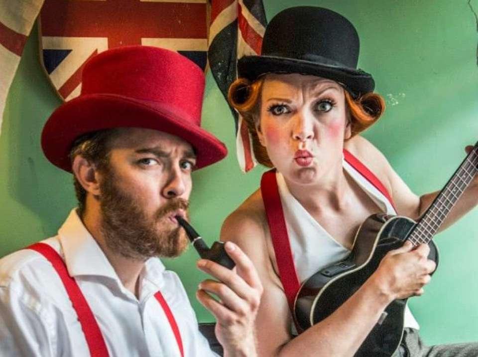 Hats  Uke Cockney Duo London Main