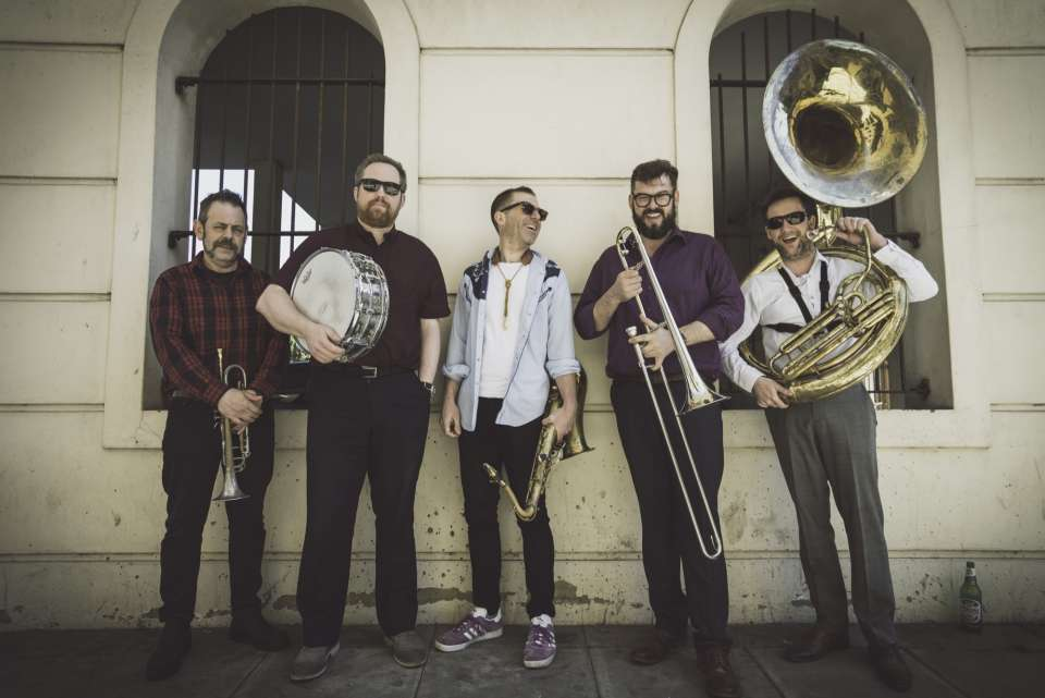 Inglorious Brassterds | London Brass Band For Hire