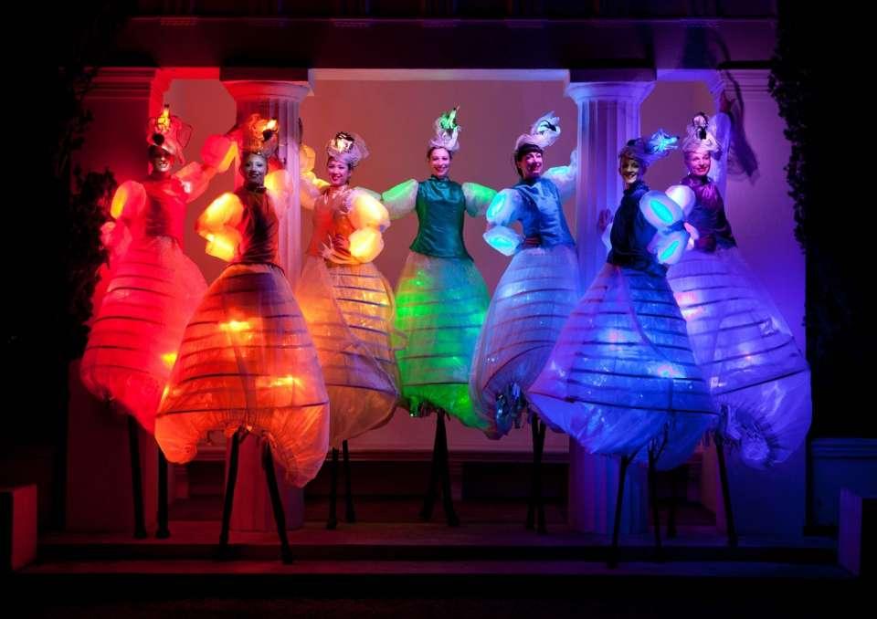 Main Glow Stilts London