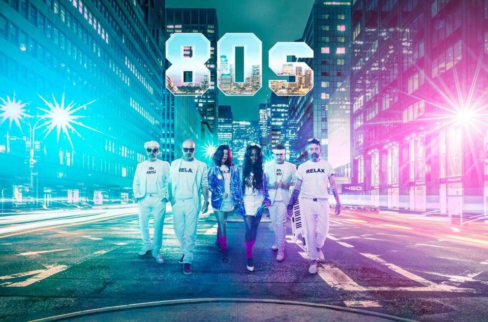 Neon 80s band5