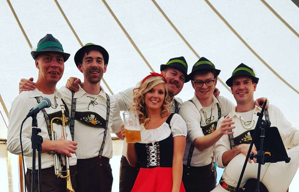 The Prosit Oompah Band | London Oompah Band For Hire