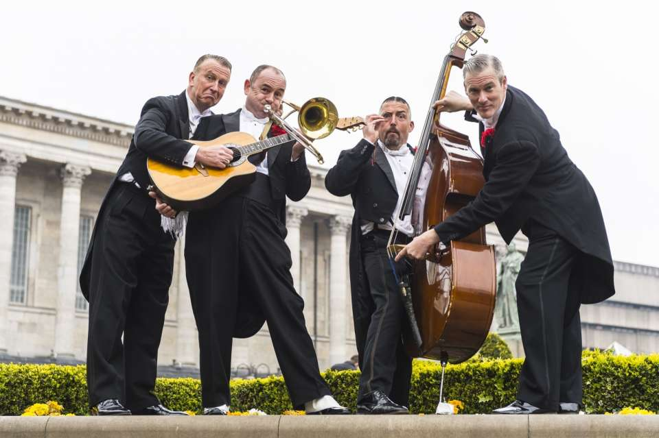 Putting On The Ritz | Jazz Swing Band | Manchester
