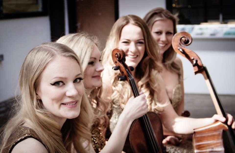 Satin strings string quartet london 6