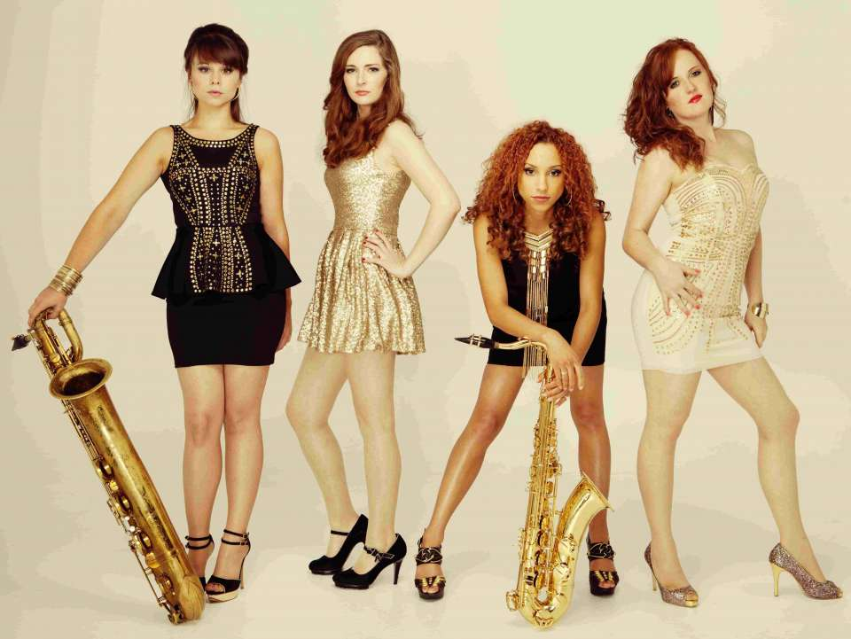 Scarlet Sax Quartet London Main