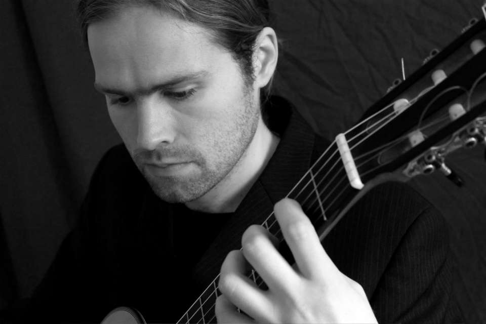 Stephen Classical Guitarist Wales Main