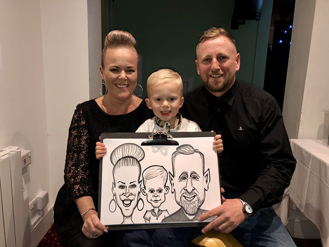 Cassandra Caricatures | Cornwall Caricaturist For Hire