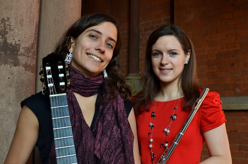 Lucy And Maria Flute Harp Duo London Main