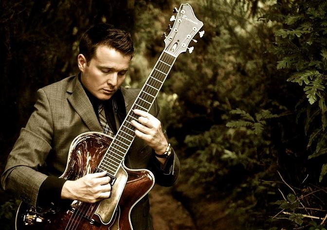 Sam Jazz Guitarist Hire Main