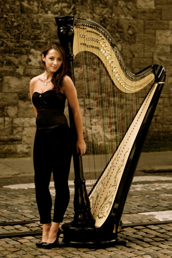 Seana Solo Harpist London 2