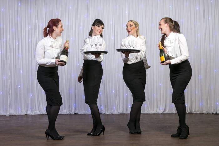 West End Waitresses | Hertfordshire Singing Waiters For Hire